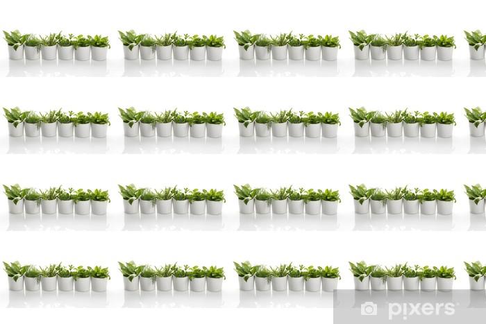 Papel de parede em vinil à sua medida Herbs - Ervas