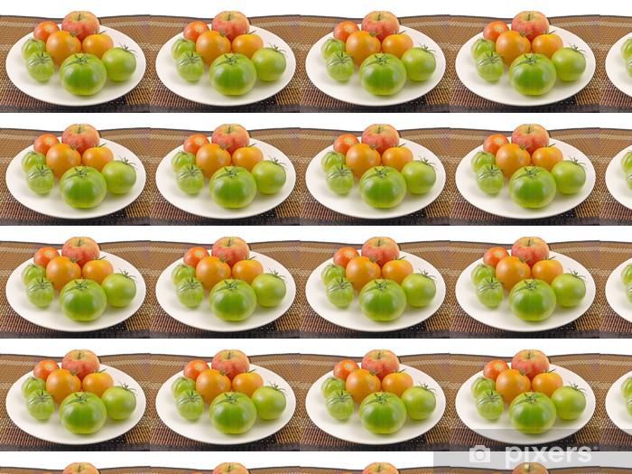 Ripening tomatoes Vinyl custom-made wallpaper - Vegetables