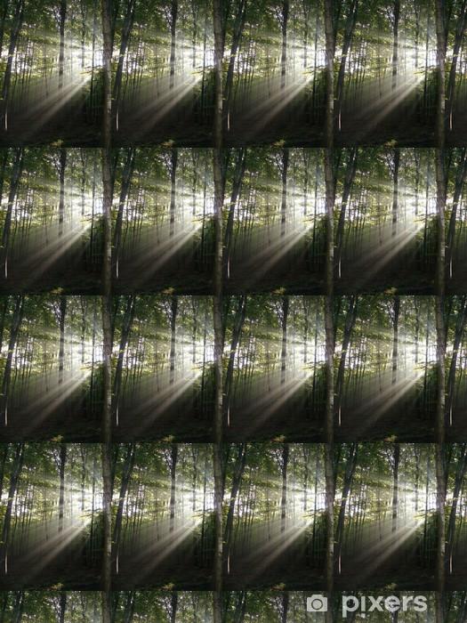 Papier peint vinyle sur mesure Lumière en forêt - Abstrait