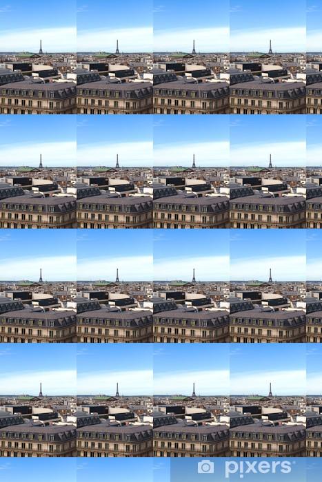 Papier peint vinyle sur mesure Paris roofs - Villes européennes