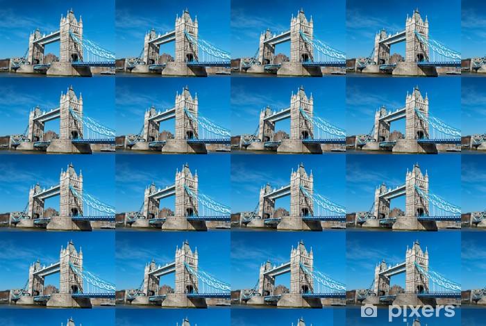 Papier peint vinyle sur mesure Tower Bridge à Londres - Thèmes