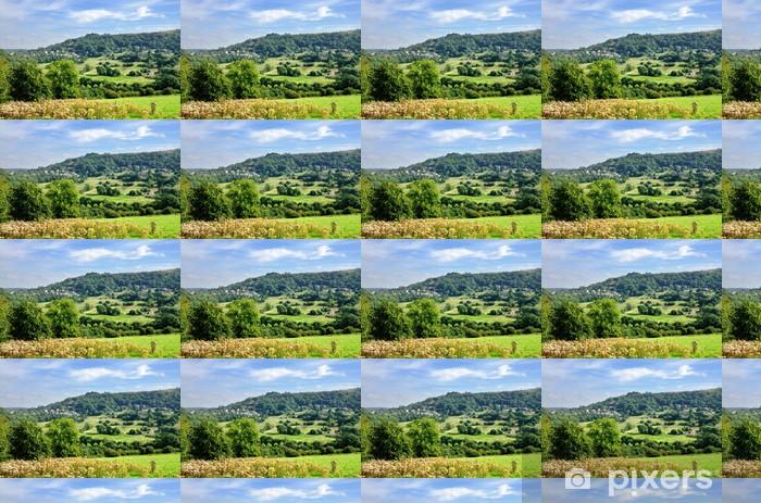 Countryside near Matlock Bath Vinyl custom-made wallpaper - Europe