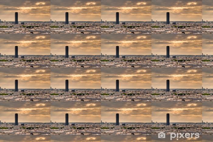 Vinylová tapeta na míru Paříž panorama s Maine-Montparnasse - Město