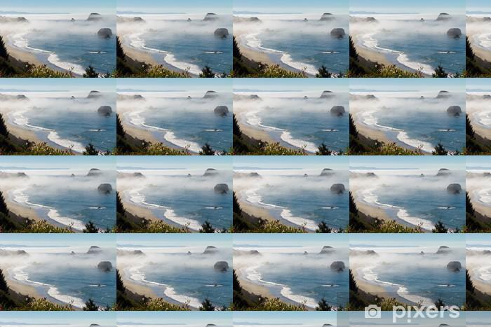 Tapeta na wymiar winylowa Poranna mgła wzdłuż wybrzeża w Brookings, Oregon - Woda