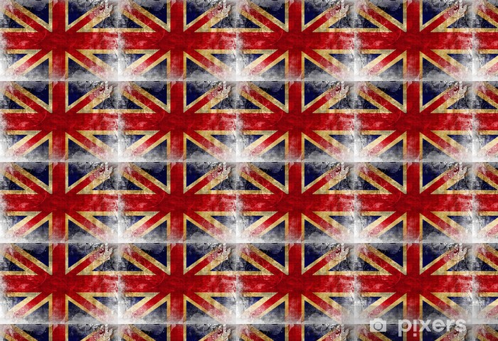 Uk Flag Wallpaper Vinyl Custom Made