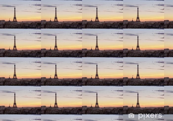 Vinylová tapeta na míru Eiffelova věž - Paříž - Evropská města