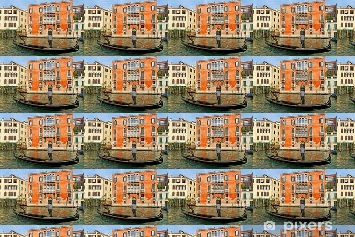 Papier peint vinyle sur mesure Grand Canal à Venise - Villes européennes
