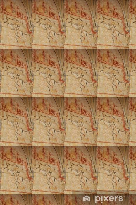 Papier peint vinyle sur mesure Cheylat chapelle de Saint Geniès en Dordogne - Vacances