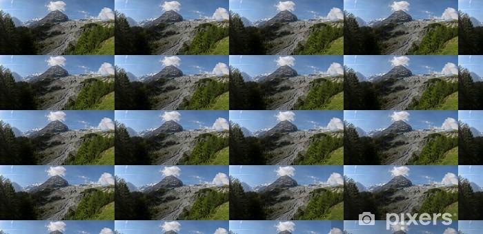 The Alps Vinyl custom-made wallpaper - Europe