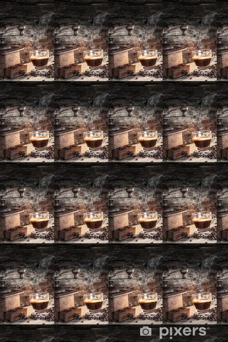 Vinylová tapeta na míru Horká káva - Káva