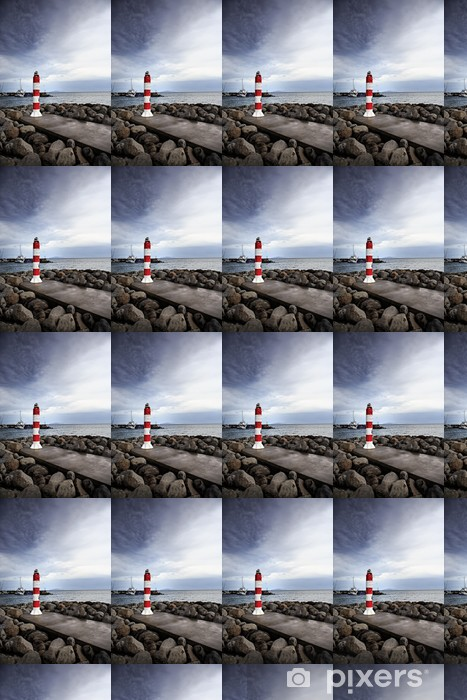 Vinyltapete nach Maß Machico Leuchtturm - Europa