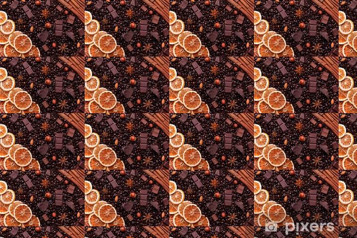 Vinylová tapeta na míru Tapety na plochu z kávových zrn, čokolády, koření, ořechy a cca - Osud