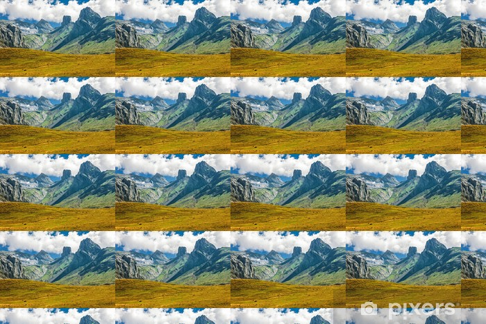 Tapeta na wymiar winylowa Francuskich Pirenejach Zakres Peaks - iStaging