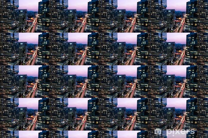 Vinylová tapeta na míru Gangnam Mrakodrapy - Témata