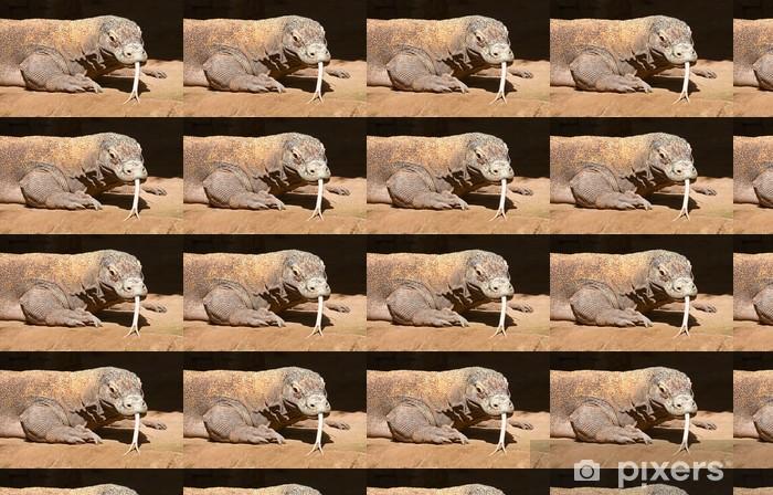 Tapeta na wymiar winylowa Waran z Komodo - Fikcyjne zwierzęta