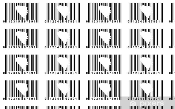 Vinyltapete nach Maß Bosnien und Herzegowina Barcode - Zeichen und Symbole