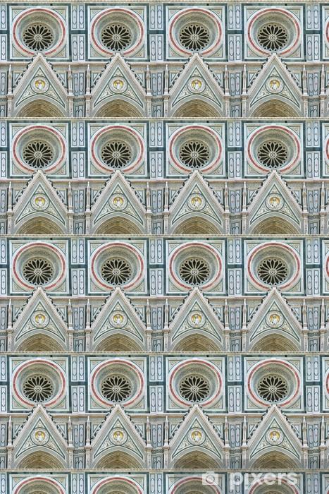 Papier peint vinyle sur mesure Détail de la cathédrale de Florence - Europe