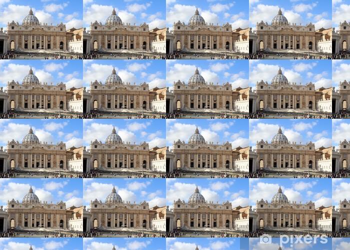 Vinylová tapeta na míru St Peters Basilica, Vatikán, Řím - Evropská města
