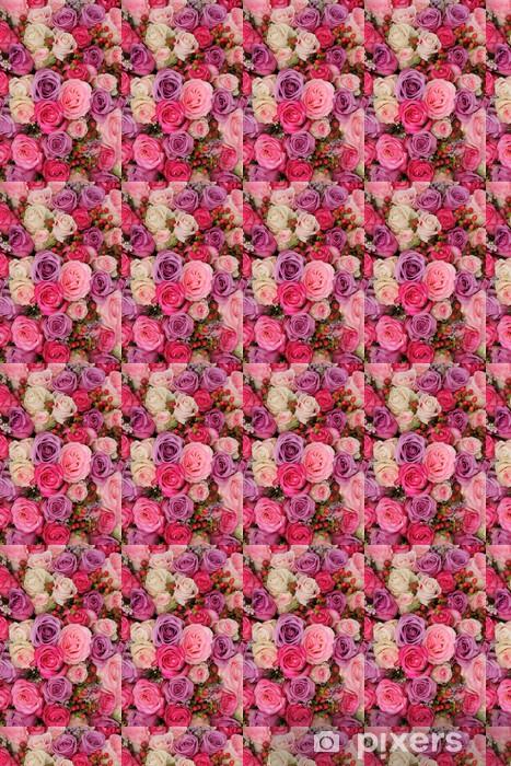 Vinyl behang, op maat gemaakt Pastel bruiloft bloemen - Viering
