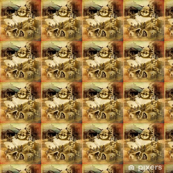 Vinylová tapeta na míru Chang-čou - di Buddha Statue - Témata