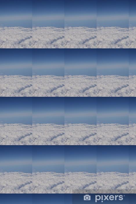 Måttanpassad vinyltapet Bergskedjan från ovan - Berg
