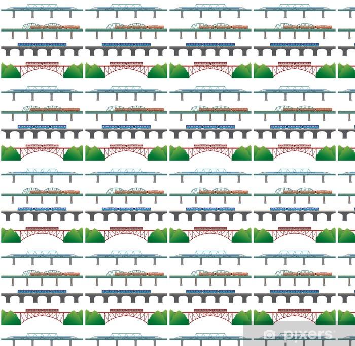 Carta da parati in vinile su misura Ferroviario - Autostrade