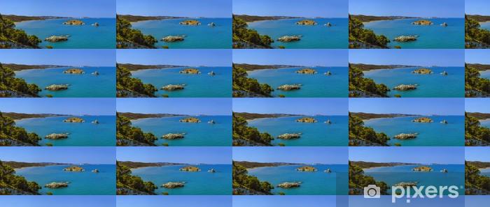 Papier peint vinyle sur mesure Côte du Gargano. Gattarella îlot-Vieste- - Eau
