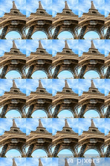 Vinyl behang, op maat gemaakt Eiffel tower - Europese steden
