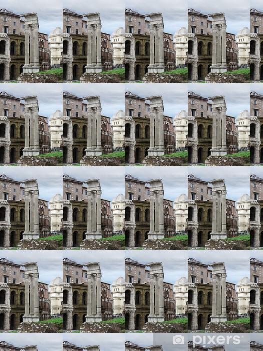 Papier peint vinyle sur mesure Apollo temple ruines - Villes européennes