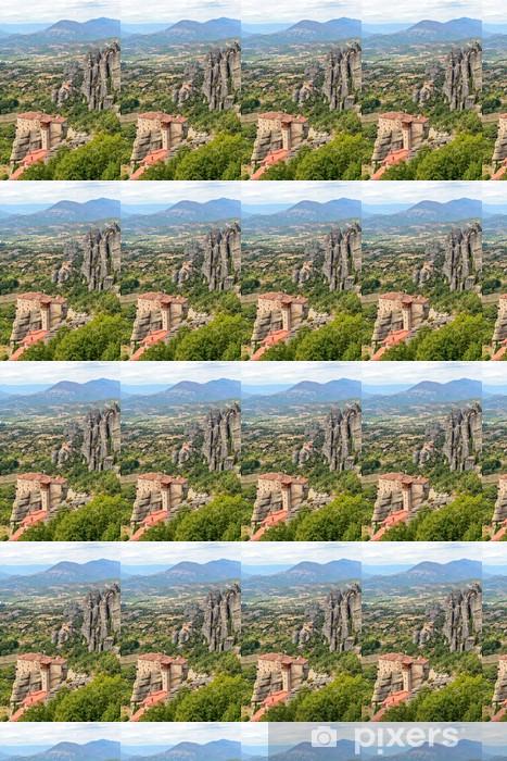 Papier peint vinyle sur mesure Saint Monastère de Rousanou à Meteora - Europe