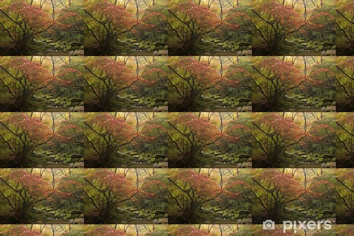 Papier peint vinyle sur mesure Paysage d'automne. - Asie