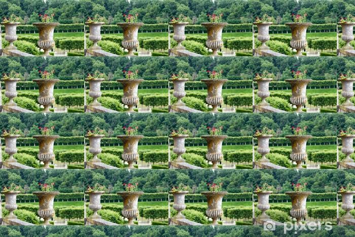 Papier peint vinyle sur mesure Splendides jardins décoratifs à des châteaux en France - Europe