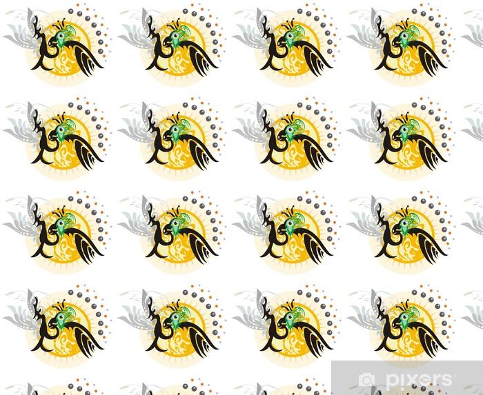 Papier peint vinyle sur mesure Le roi des oiseaux - Autres sentiments