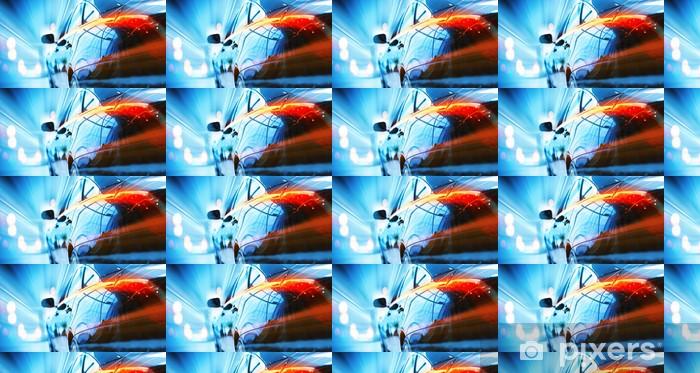 Papel pintado estándar a medida Vista trasera del coche de lujo - Temas