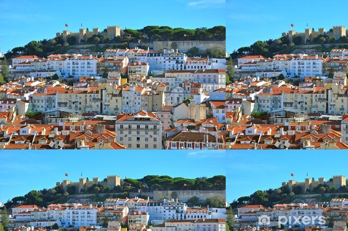 Vinylová Tapeta Castelo de Sao Jorge - Evropská města