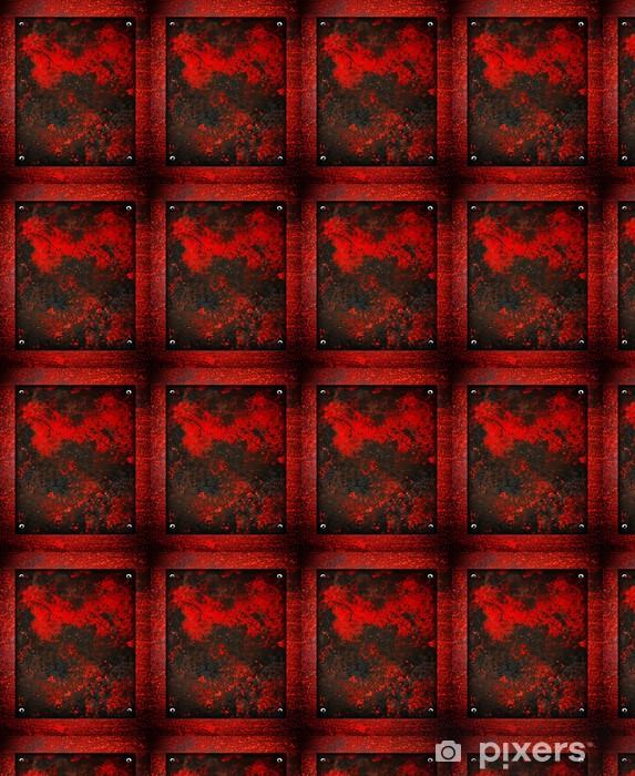 Tapeta na wymiar winylowa Rusty blacha - Tekstury
