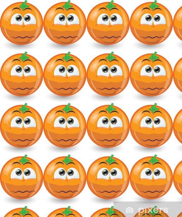 Tapeta na wymiar winylowa Cartoon Zabawna pomarańczowy - Inne uczucia