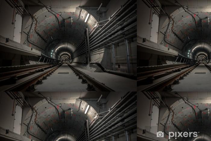 Vinylová Tapeta Podzemní tunel pro metro - Témata