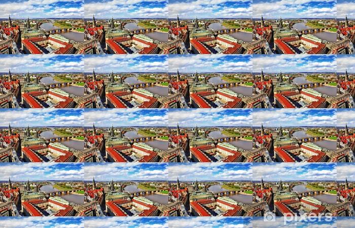 Vinyl behang, op maat gemaakt Mooie Dresden, Duitsland. panoramisch uitzicht - Europa