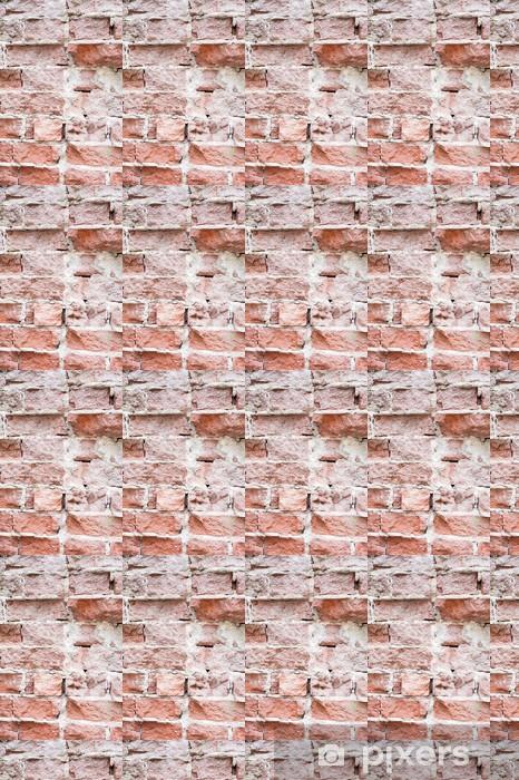 Vinyl behang, op maat gemaakt Bakstenen muur Fragment - Texturen