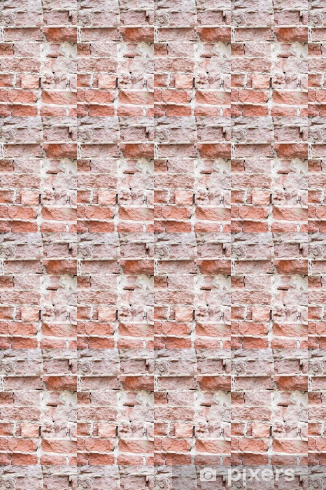 Papel de parede em vinil à sua medida Brick Wall Fragment - Texturas