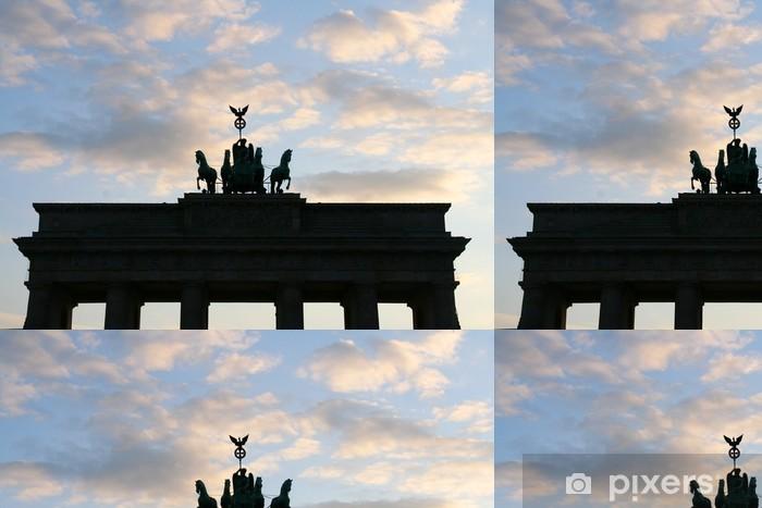 Vinylová Tapeta Braniborská brána, Berlín - Evropa