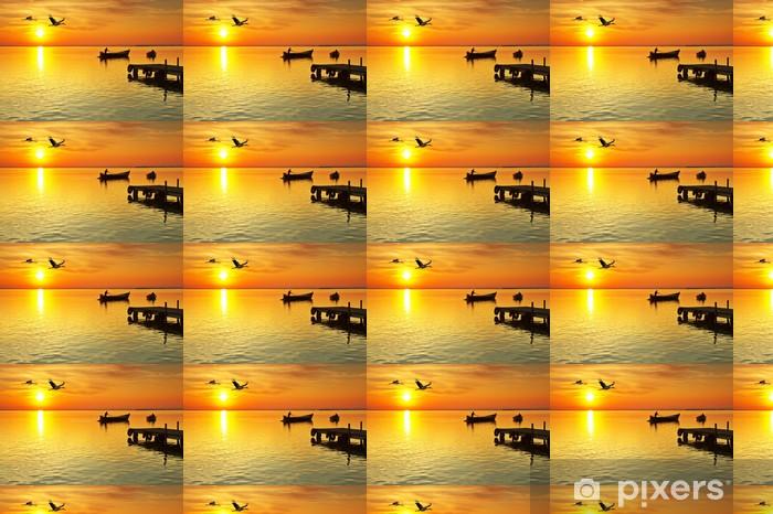 Vinyltapete Ferien am Meer - Urlaub