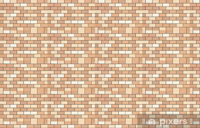 Tapeta na wymiar winylowa Nowe tła brązowy ceglany mur - Przemysł ciężki