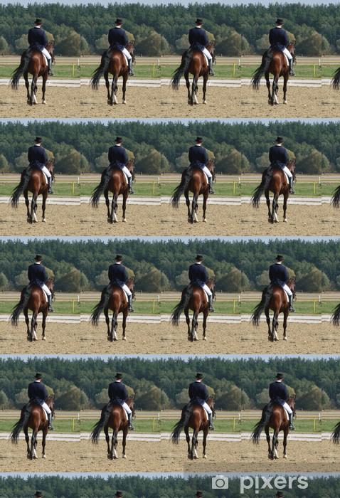 Tapeta na wymiar winylowa Jeździectwo jazda konna ogier - Sporty indywidualne