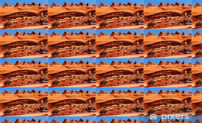 Tapeta na wymiar winylowa Delicate Arch Rock Canyon Arches National Park Moab Utah - Ameryka