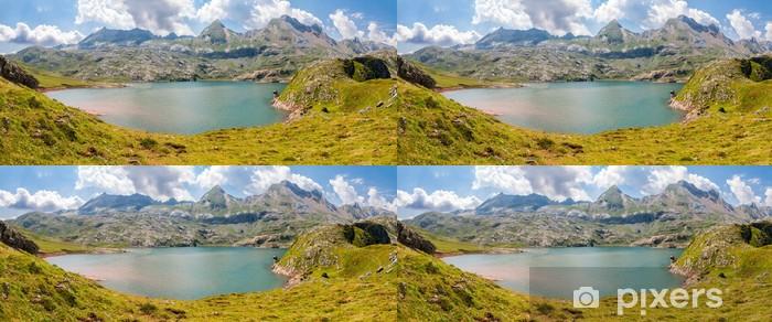 Vinylová Tapeta Panorama Estanes jezera ve španělských Pyrenejích - Evropa