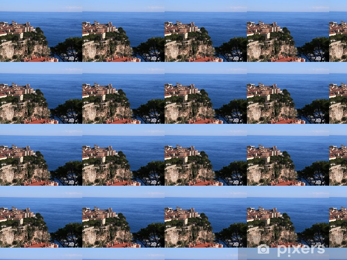 Tapeta na wymiar winylowa Z widokiem na Morze Śródziemne z Monte Carlo - Europa
