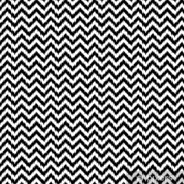 Papier peint vinyle sur mesure Tissu à chevrons, seamless - Mode