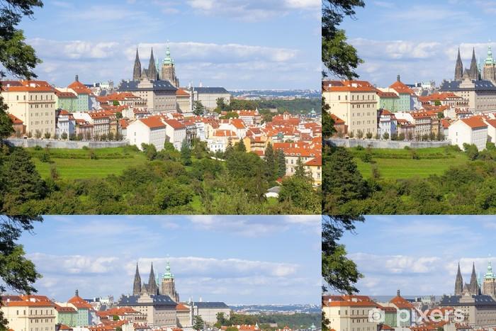 Vinylová Tapeta Praha - Hradčany hrad a Katedrála svatého Víta - Evropská města